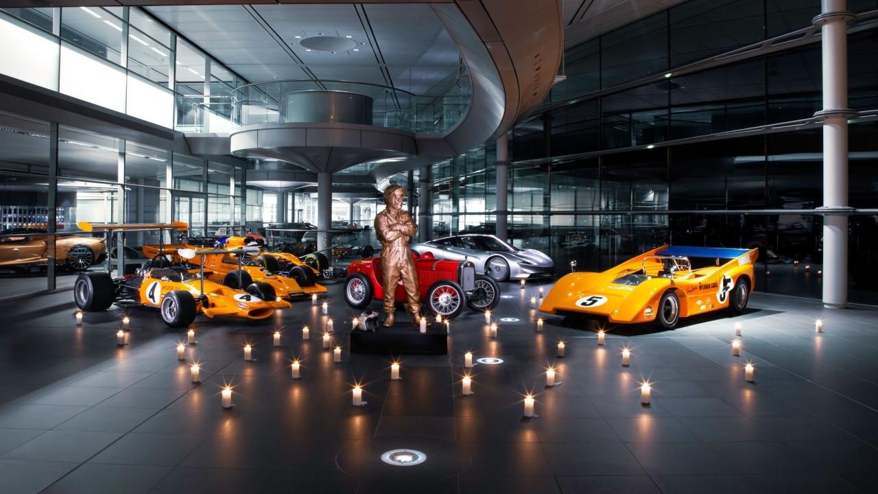 McLaren homenajea a su fundador en el 50º aniversario de su muerte