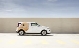 KIA e-Soul Cargo, el crossover eléctrico coreano se transforma en un comercial