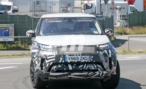 Nuevo avistamiento del Land Rover Discovery Facelift 2022, esta vez en Nürburgring