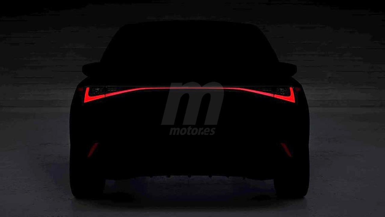 Primer teaser del nuevo Lexus IS 2021, la berlina japonesa en camino