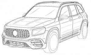 Una filtración revela la patente del diseño del nuevo Mercedes-AMG GLB 45