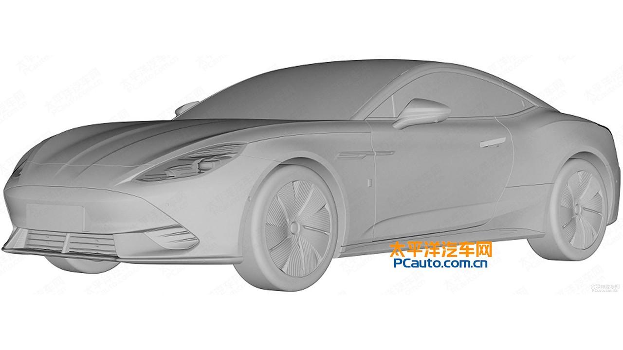 Se filtra la versión de producción del MG E-Motion, un deportivo chino 100% eléctrico