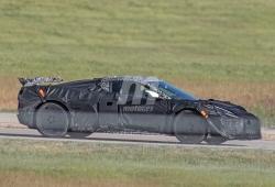 El brutal Chevrolet Corvette Z06 nos muestra su espectacular alerón