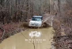 El Ford Bronco presume de aptitudes off-road en su nuevo vídeo