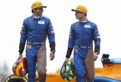 Norris, sorprendido por la marcha de Sainz a Ferrari: «Nadie esperaba esto»