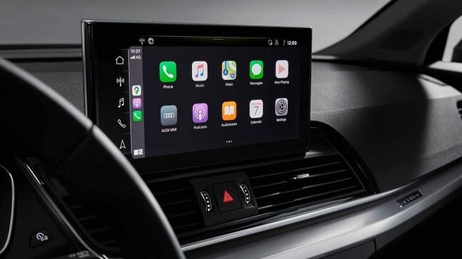 Audi Q5 2021 - pantalla táctil