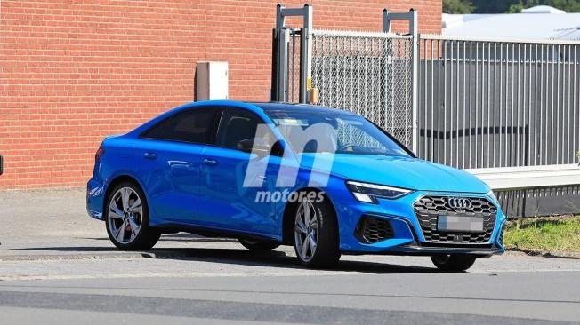 Audi S3 Sedán 2021 - foto espía