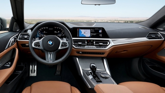 BMW Serie 4 Coupé 2020 - interior