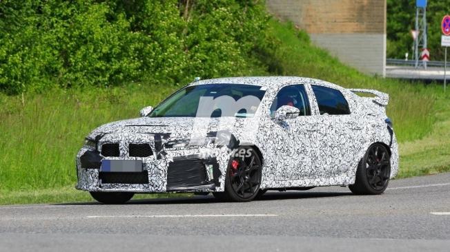 Honda Civic Type R 2022 - foto espía