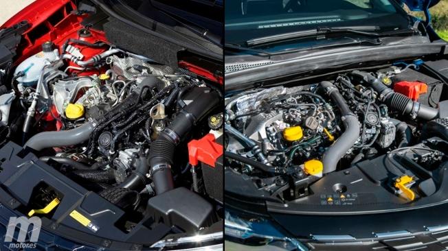 Motor de tres cilindros vs cuatro cilindros