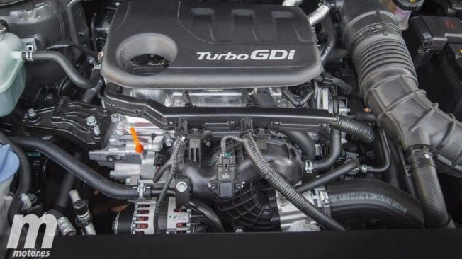 Motor de tres cilindros del KIA Stonic