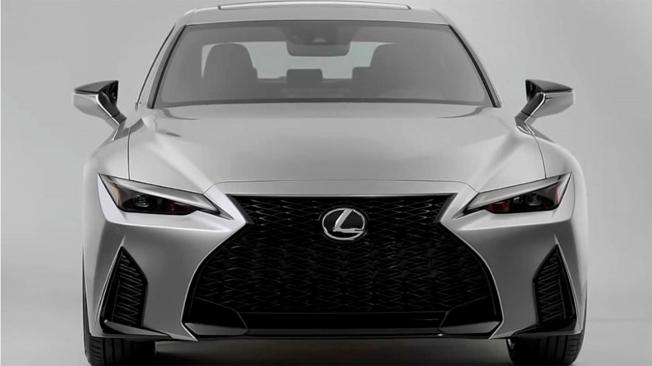 Lexus IS 2021 - frontal