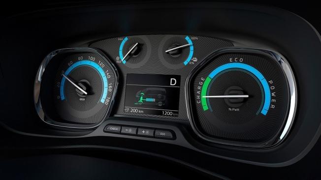 Opel Zafira-e Life - cuadro de instrumentos