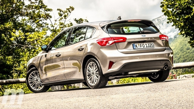 Ford Focus - posterior