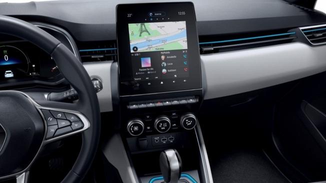 Renault Clio E-Tech - interior