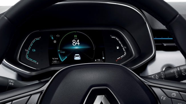 Renault Clio E-Tech - cuadro de instrumentos