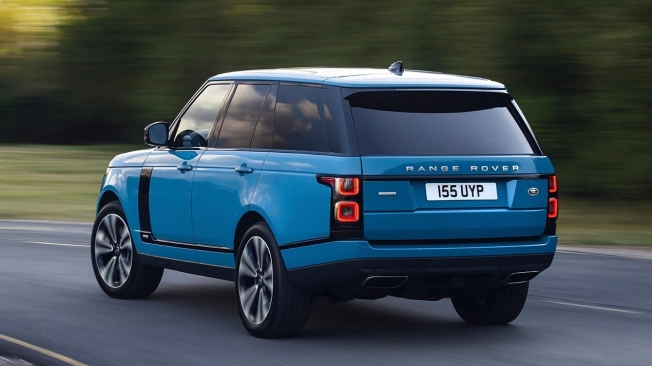 Range Rover Fifty - posterior