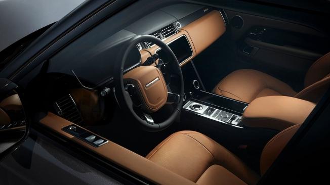 Range Rover Fifty - interior