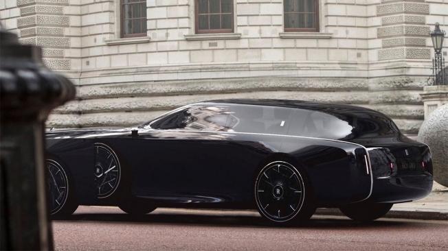 Foto espía del misterioso prototipo de Rolls-Royce