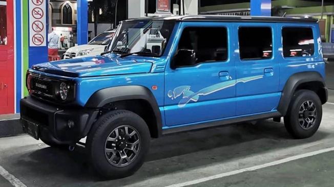 Recreación del Suzuki Jimny de 5 puertas