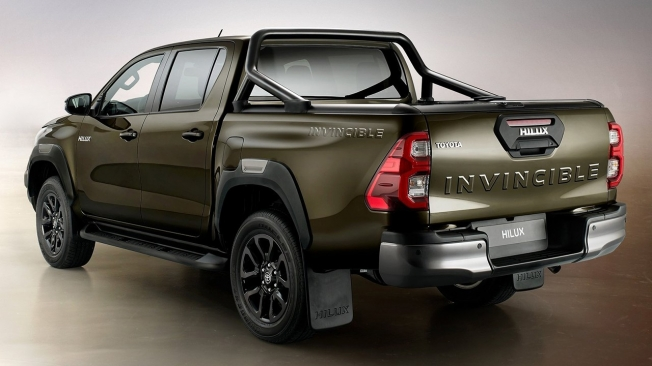 Toyota Hilux 2021 - posterior
