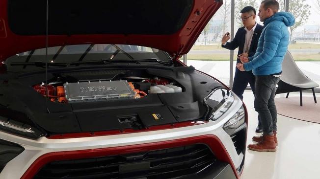 Coches eléctricos Nio en China