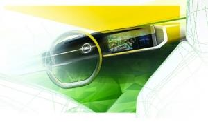 Opel adelanta un teaser del nuevo Mokka con un avanzado interior
