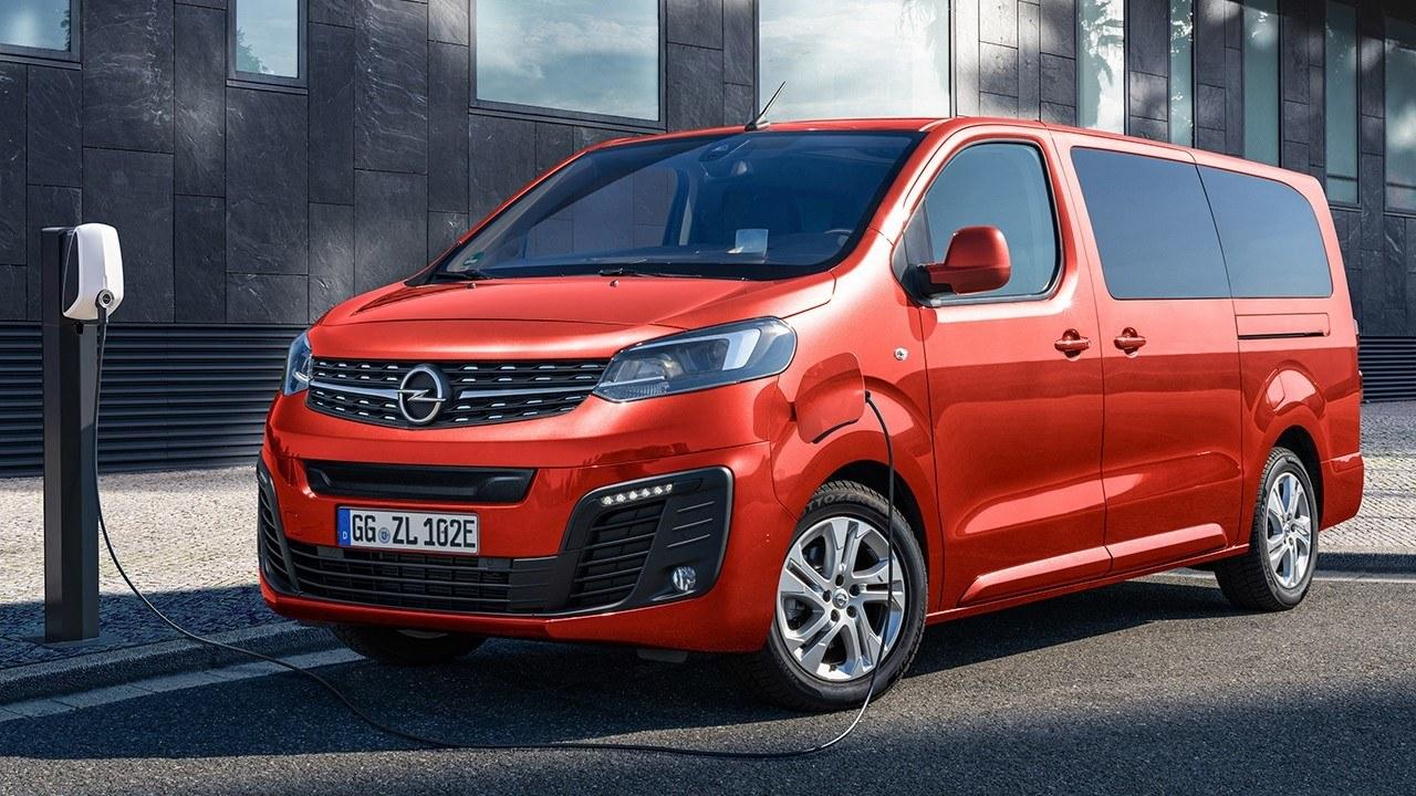 Opel Zafira-e Life, movilidad eléctrica para hasta 9 pasajeros