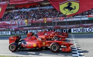 Un plan muy «rosso» de la F1: GP número 1000 de Ferrari en Mugello