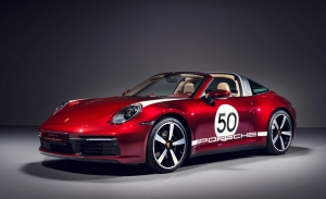 Porsche presenta el nuevo 911 Targa Heritage Design Edition de sabor retro