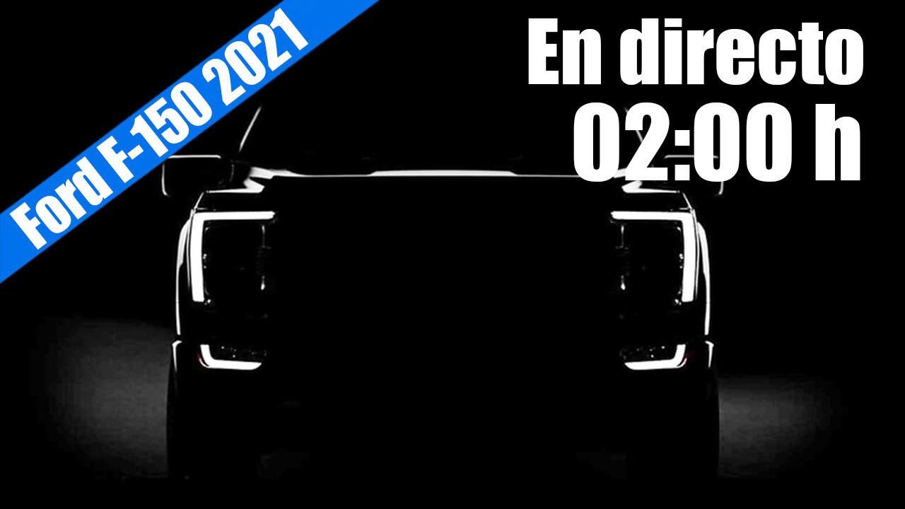 En directo: presentación del nuevo Ford F-150 2021 desde EEUU