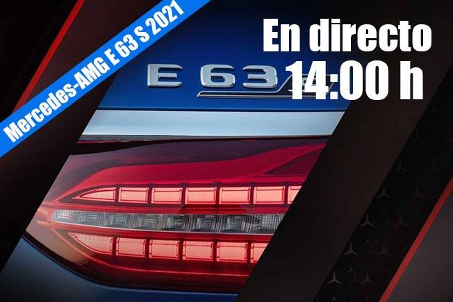 En directo: presentación del nuevo Mercedes-AMG E 63 S 2021