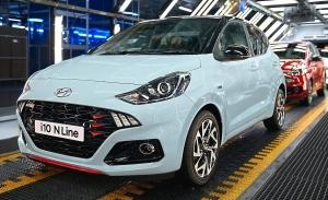 El nuevo Hyundai i10 N Line, un utilitario de aire deportivo, inicia su producción