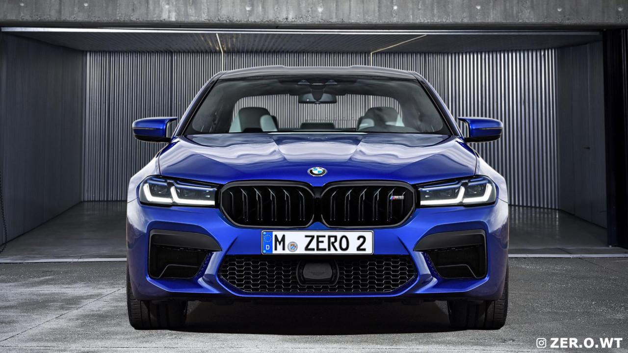 BMW M5 2021: nuevos renders desvelan su aspecto definitivo
