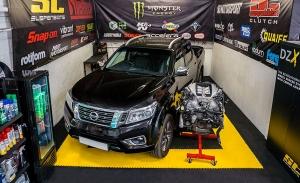 Esta Nissan Navara recibirá el motor de un GT-R para convertirse en una pick-up salvaje de 1.000 CV