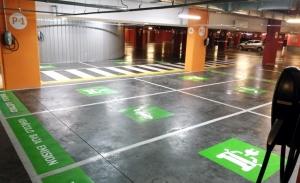 Torre Sevilla amplía su red de cargadores de coches eléctricos