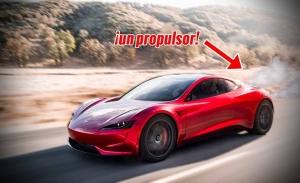 ¡Brutal! Así 'volará' el Tesla Roadster con propulsores de SpaceX