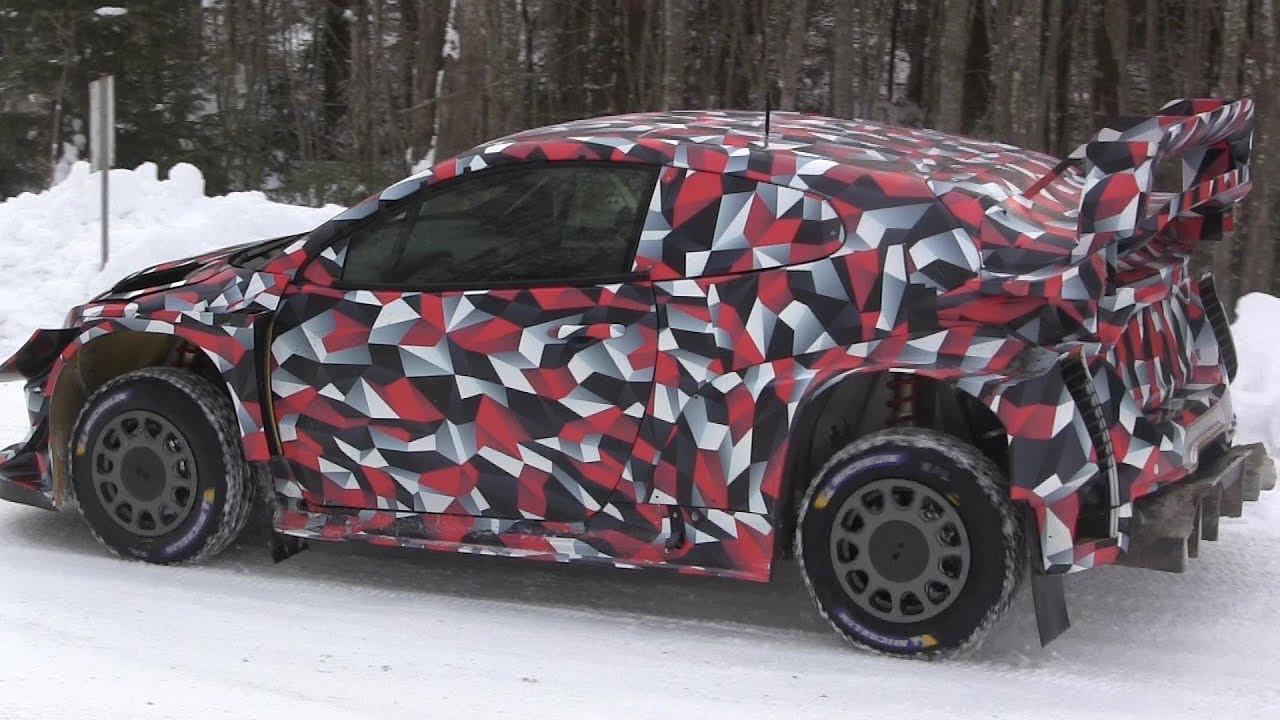 Toyota construye el tercer chasis del Toyota GR Yaris WRC de 2021