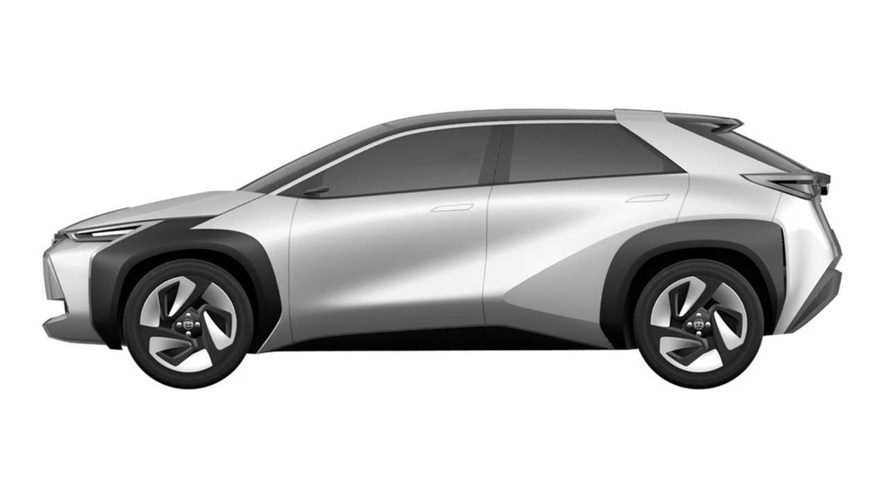 Filtradas nuevas imágenes de los crossovers eléctricos de Toyota