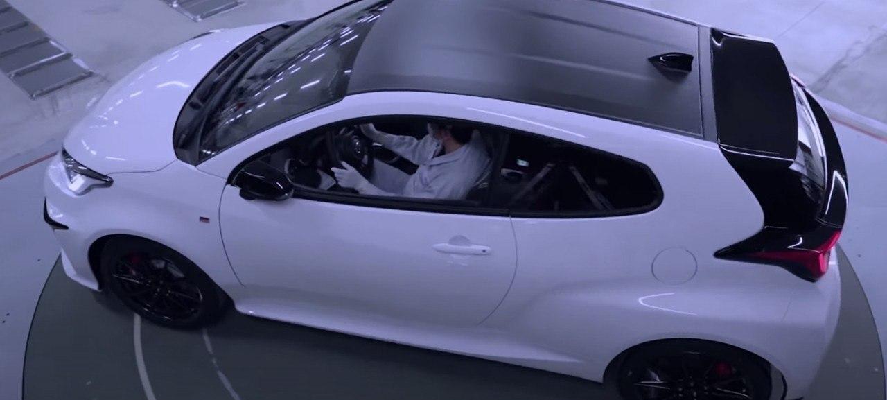 Toyota dedica una línea de producción exclusiva al nuevo GR Yaris [vídeo]