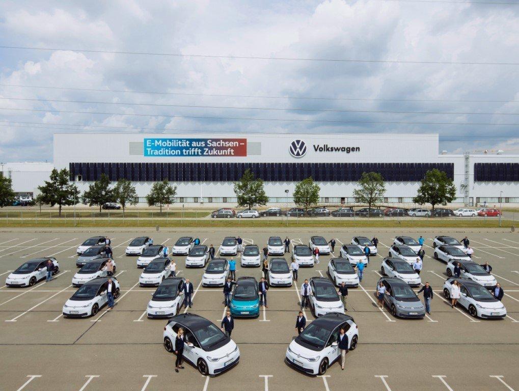 Los empleados de Volkswagen probarán una flota de unidades del ID.3