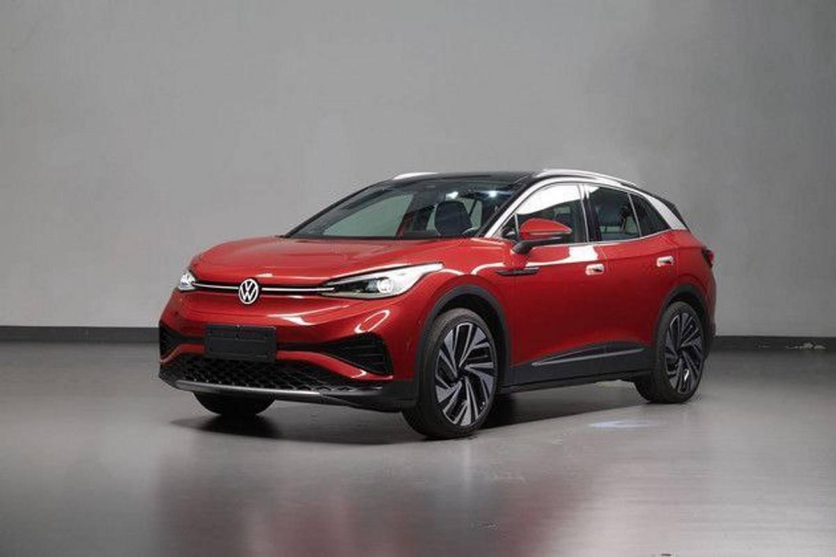 La versión china del Volkswagen ID.4 con todo detalle en nuevas imágenes