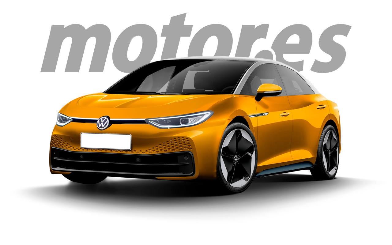 Esta recreación adelanta la nueva berlina eléctrica de Volkswagen para 2023