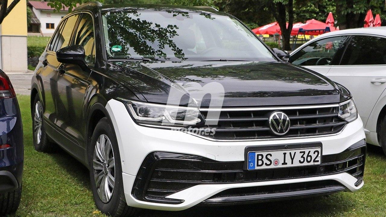 Así es el nuevo Volkswagen Tiguan 2021, ¡cazado el renovado SUV en formato pre-serie!