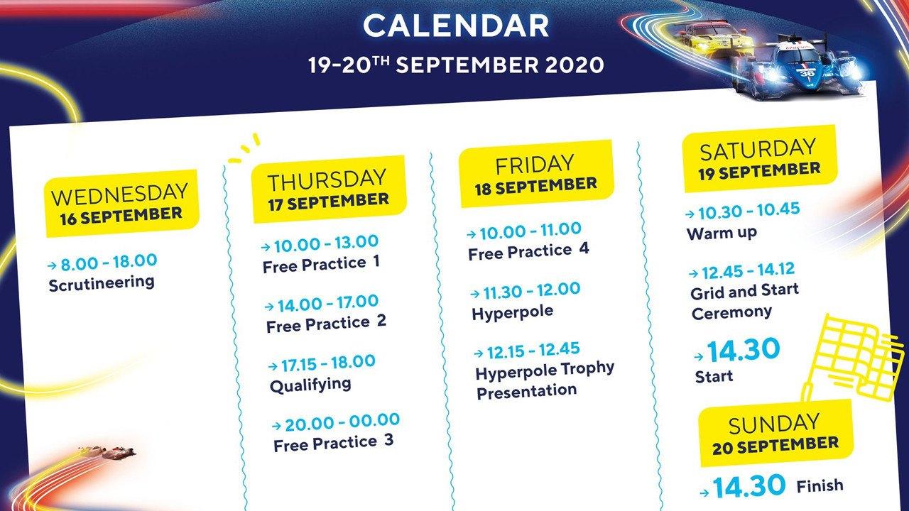 El WEC reduce el programa de las 24 Horas de Le Mans 2020 a cuatro días