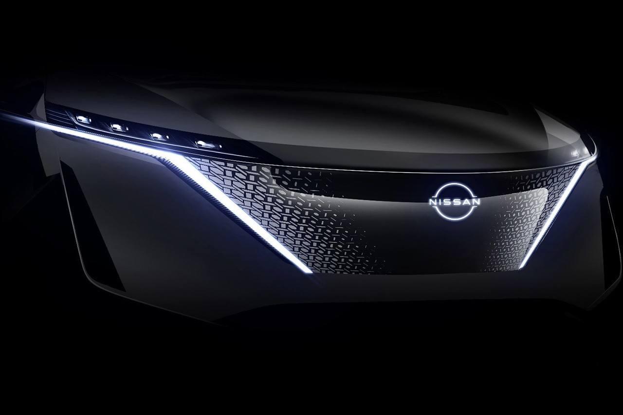 Nuevo teaser del Nissan Ariya, el SUV eléctrico deja ver detalles interesantes