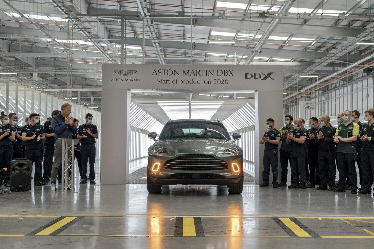 Comienza la producción del Aston Martin DBX, el modelo más importante de la gama
