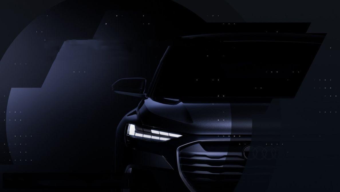 Nuevo teaser de Audi, la marca de los cuatro aros adelanta el nuevo Q4 Sportback e-tron