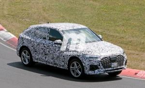 El esperado Audi Q5 Sportback se enfrenta al popular trazado de Nürburgring