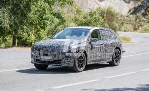El SUV eléctrico BMW iX, también llamado iNEXT, al detalle en estas fotos espía
